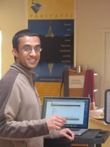 Brihas Sarathy, Consultant to the Pariyatti board of directors
