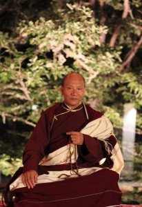Lama Sonam Rinpoche, who will be one of the leaders at Saraha