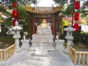 The Maitreya Shrine at the International Buddhist Temple