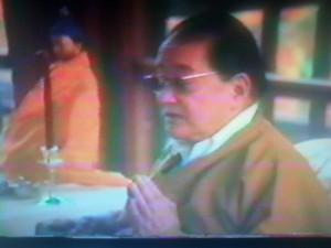 H.H. Dudjom Rinpoche teaches at Saraha 11-08-1980