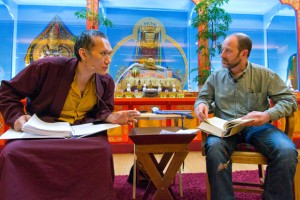 President Yangsi Rinpoche and Dr. Steven Vannoy co-teach