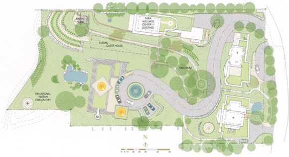 Plans for Greenness Memorial Park.