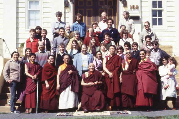 Early members of Sakya Monastery