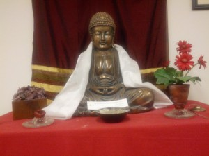This shrine was for many years the center of the Northwest Dharma Association office in Seattle.