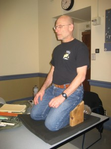 Instructor Joe Pearl