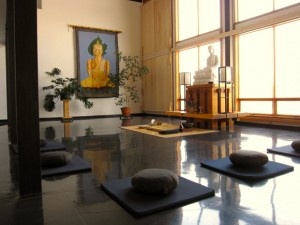 The primary meditation hall
