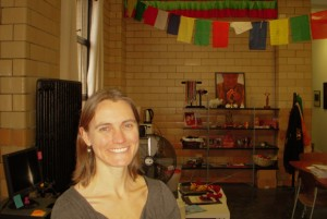 Lisa Stranger, Tibetan Nuns Project operations manager
