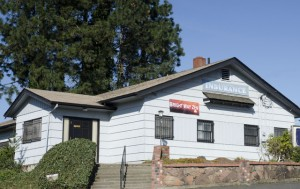 The zendo, on the west edge of Portland, also houses an insurance company