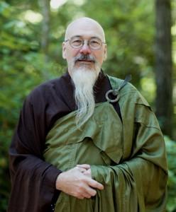 Koro Kaisan Miles, president of Northwest Dharma Association, also resident teacher at Open Gate Zendo in Olympia
