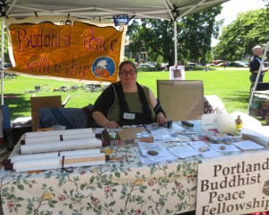 The Portland Buddhist Festival was organized by the Portland Buddhist Peace Fellowship, in collaboration with many local Buddhist groups.