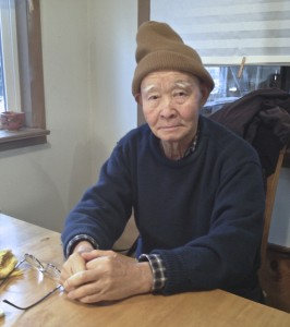Ven. Genki Takabayashi on New Year's day