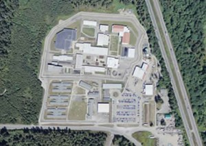 An aerial view of Washington Corrections Center for Women