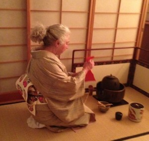 Jan Waldmann was trained in Kyoto, Japan, in the nuances of Japanese tea ceremony.