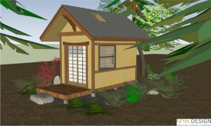 Construction of the first of these hermitage cottages will start in 2014