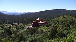Tara Mandala, in Pagosa Springs, Colo., where Bailey studied the dharma for many years