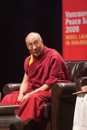 "n his remarks, His Holiness emphasized ""the need to foster empathy and altruism in children and youth,"" according to Victor Chan"