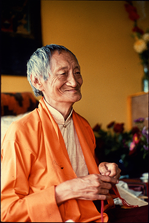 Changchub Chuling's Founder, the venerable Kalu Rinpoche