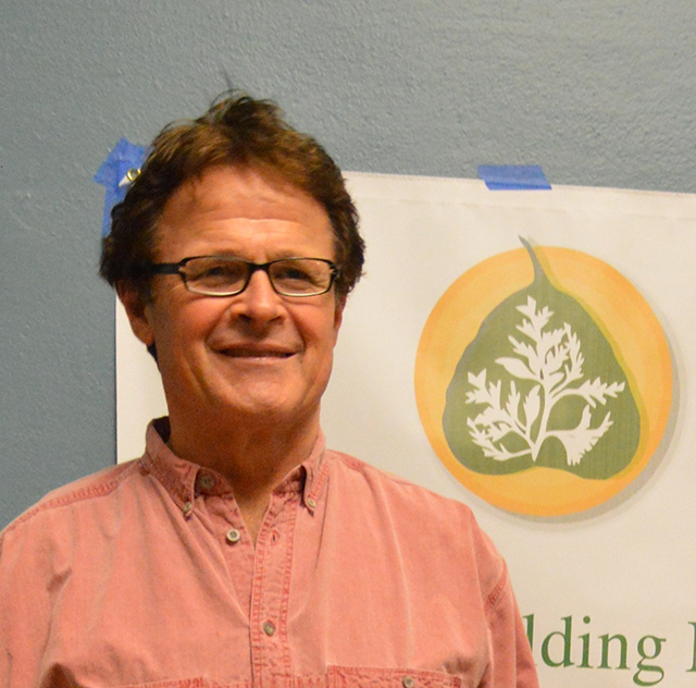 Tim Tapping, new board president, led organizing of the Seattle Arts as Buddhist Practice festival
