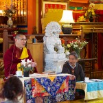 Khenpo Jampa Rinpoche taught on how to perform a retreat, at Sakya Monastery