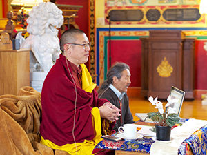 from a qualified teacher is the primary requirement for long retreat, Khenpo-la said