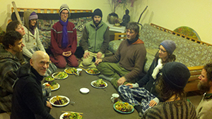 Sunday gathering dinner at Kailash