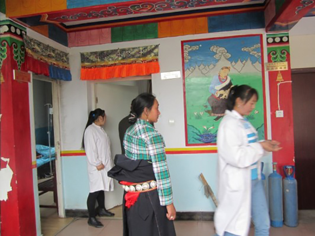 Tibetan women at the Tibetan Birth Center
