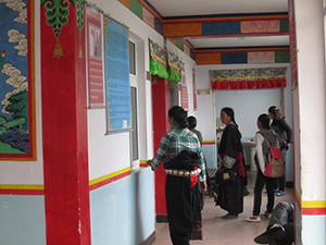 The center serves Tibetan women, and others, from around the region