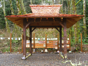 To the Shrine of Vows at Great Vow Zen Monastery in Clatskanie, Ore