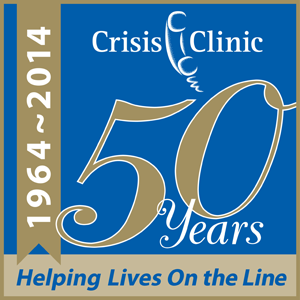 Crisis Clinic has served people needing support at difficult times for 50 years