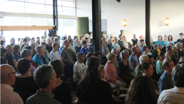 The Seattle Insight Meditation Society (SIMS) sits together July 22, for the first time in their new home