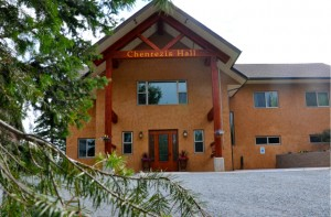 The new Chenrezig Hall