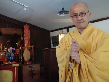 Taijo Imanaka, one of two Buddhist delegates to the council, and head priest at the Seattle Koyasan Buddhist Temple