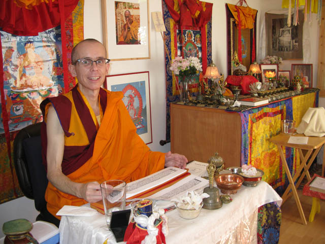Losang Tsering taught, practiced and offered teachings, from his Seattle gonpa, also his home, in the Fremont neighborhood of Seattle
