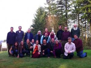Dr Nida with Traditional Tibetan Medicine Northwest area sangha in Portland, April 2014