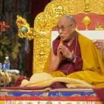 "The focus of His Holiness' teachings was ""Eight Verses of Mind Training The Mind,"" by Geshe Langri Thangpa"