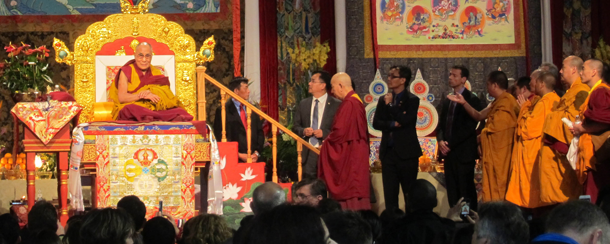 The Vancouver, B.C. Tibetan community and wider Buddhist community supported the event