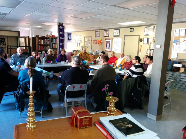 The Mahasangha, a gathering of active Buddhists from around the region, gathered in November