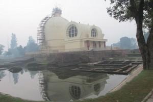 Kushinagar, where the Buddha died, is especially moving.