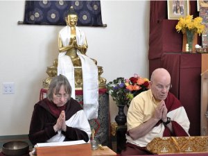 Lamas Tara Goforth and Michael Conklin will be Retreat Masters for the Shangpa Kagyu three-year retreat, with a start date of April 4.
