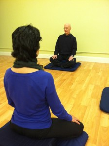 Senior Teacher Jim Jennings leads weekly meditation sessions at Eastside Shambhala