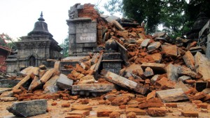 The earthquake severely damaged many religious buildings, such as the Pashupatinath Temple
