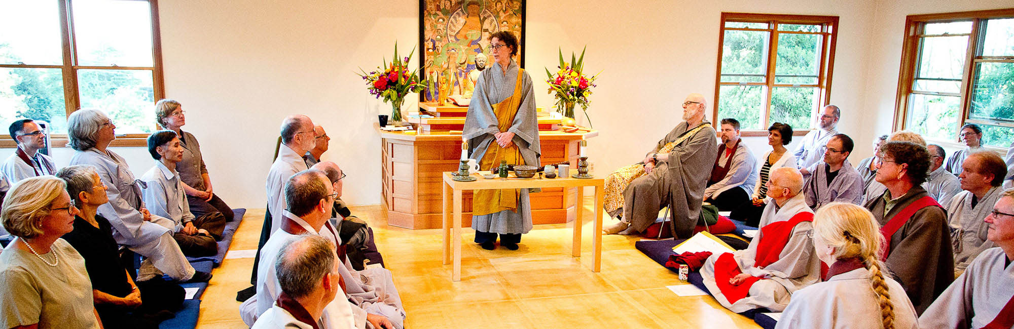 Zen Master Jeong Ji, also known as Anita Feng, is becoming a leader in the Northwest after receiving Zen dharma transmission