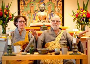Two Zen masters