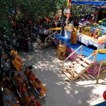 Buddhist leaders, temple members and temple friends, gathered from around the region for the ceremony