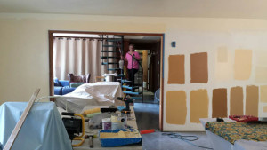 When it comes to choosing among paint swatches, they do things in a big way at Cloud Mountain