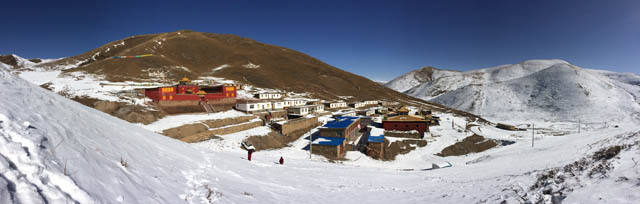 The crowdfunding program supports education and tofu making, at and around Kilung Monastery in Tibet
