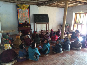 Education in the Dzachuka area of Tibet is a primary goal of Kilung Foundation