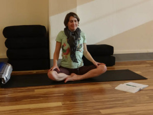 Serena Maurer, an independent consultant who designed the mindfulness program for Latina mothers