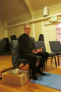 Guest teachers visit, including Steve Armstrong in January