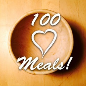Love and food combine in the 100 Meals program